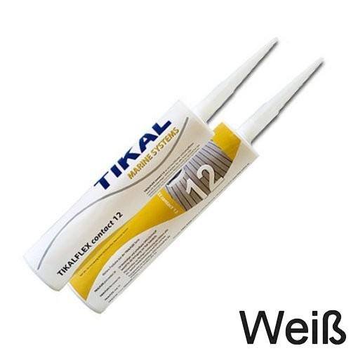 Tikalflex Contact 12 Weiß Kartusche