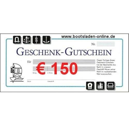 Geschenkgutschein € 150