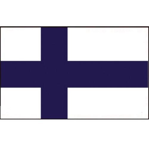 Flagge Gastland Finnland
