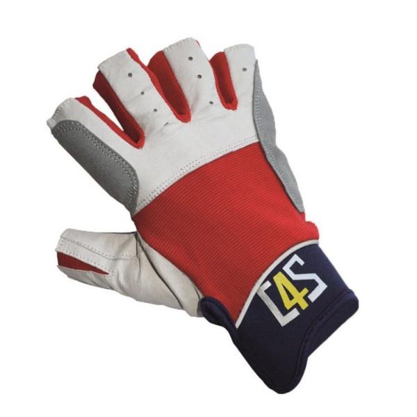 C4S Segelhandschuhe rot