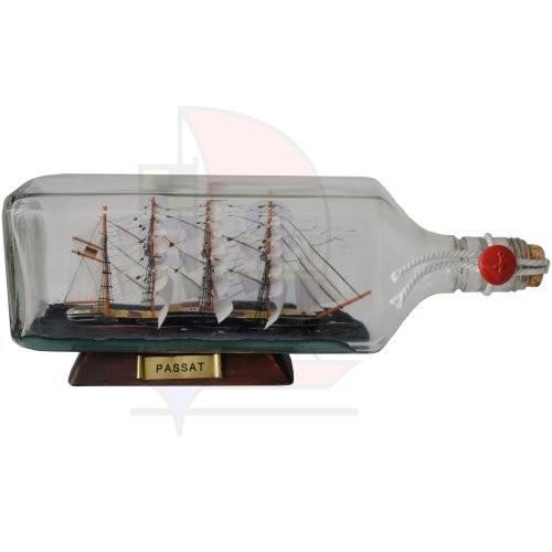 Buddelschiff 0,7l Ginflasche Passat