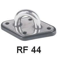 Ronstan Augplatte 95x60 RF44