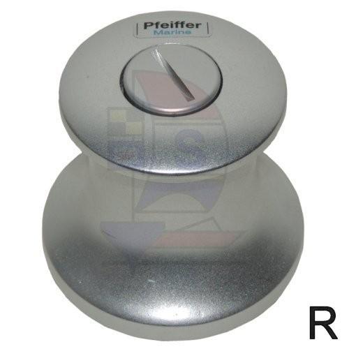 Durchholwinde 55mm Pfeiffer Aluminium rechts