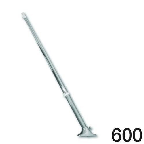 Flaggenstock mit Halterung 600mm niro