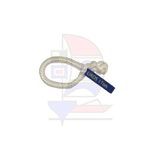 Liros XTR-Soft Schäkel 1t weiß 6mm