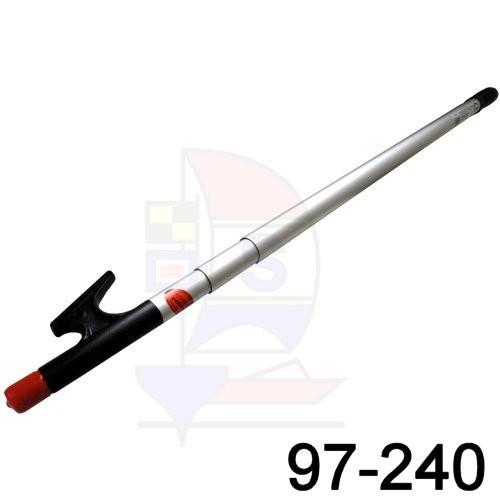 Team® 3-fach Teleskop-Bootshaken 97-240cm