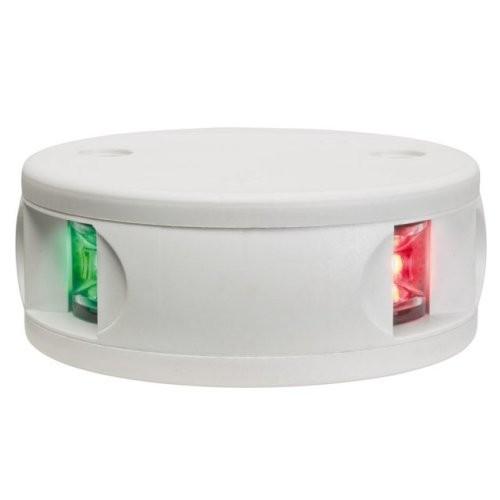 Aqua Signal Serie 34 Zweifarbenlaterne LED weißes Gehäuse