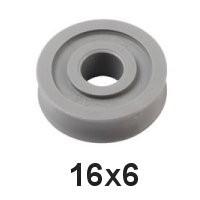Holt Allen Seilscheibe Acetal 2-4mm HA 45