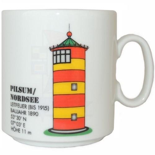 Leuchtturmtasse Pilsum / Nordsee