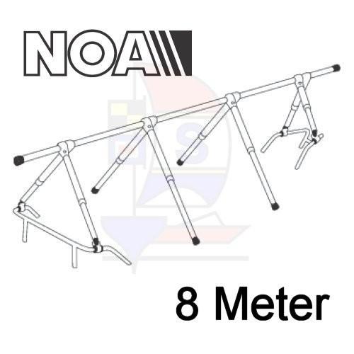 NOA Robustes Decksgestell 8m