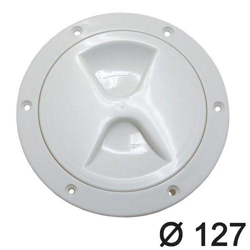 Inspektionsdeckel mit Schraubverschluss 127mm