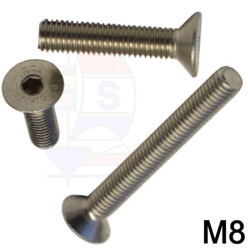 Senkkopfschraube M8 (DIN 7991)