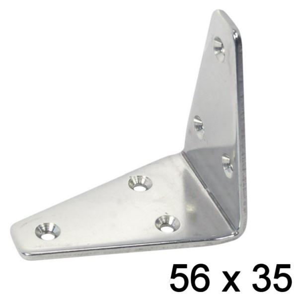 Winkel dreieckig 56 x 35