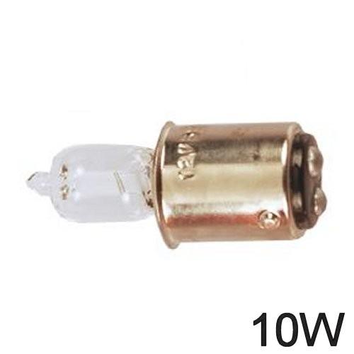 Glühlampe 10W BA 15d Halogen