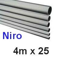 Niro-Rohr 4m x 25x1,5mm