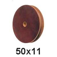Seilscheibe Tufnol 50 x 11