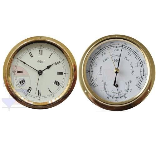 Barigo Regatta 2-er Set Quarzuhr + Barometer / Thermometer