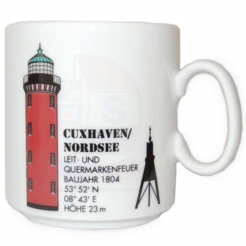 Leuchtturmtasse Cuxhaven/Elbe