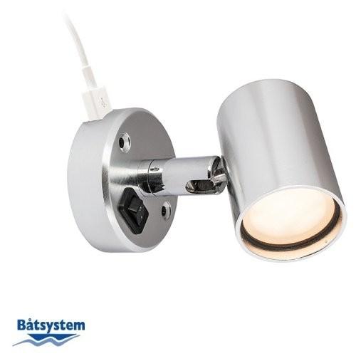 Båtsystem Leselampe D1USB LED