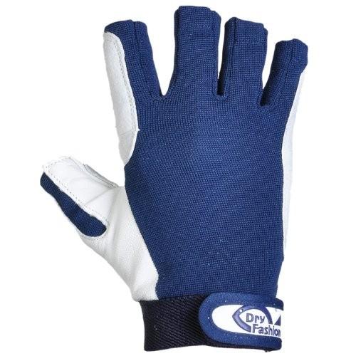 Dry Fashion Handschuhe Leder o.F. navy-Copy
