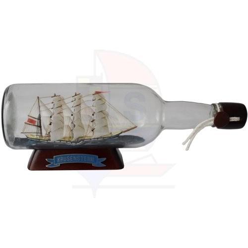 Buddelschiff 0,7l Rumflasche Krusenstern