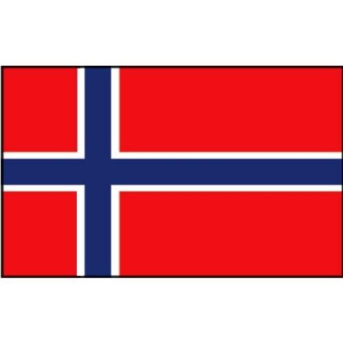 Flagge Gastland Norwegen