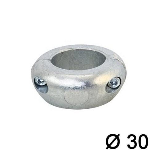 Wellenanode Magnesium flach 30mm
