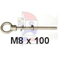 Augbolzen M8 x 100mm