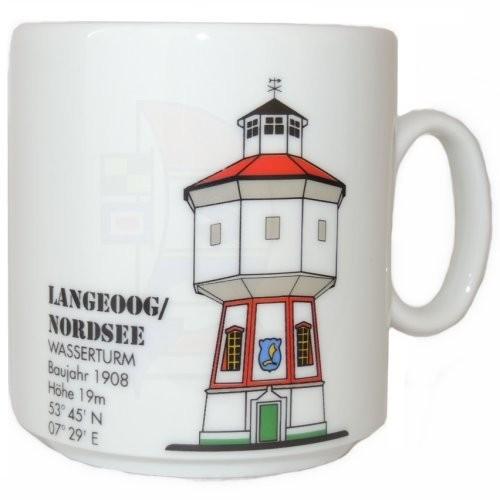 Leuchtturmtasse Langeoog / Nordsee
