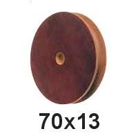 Seilscheibe Tufnol 70 x 13