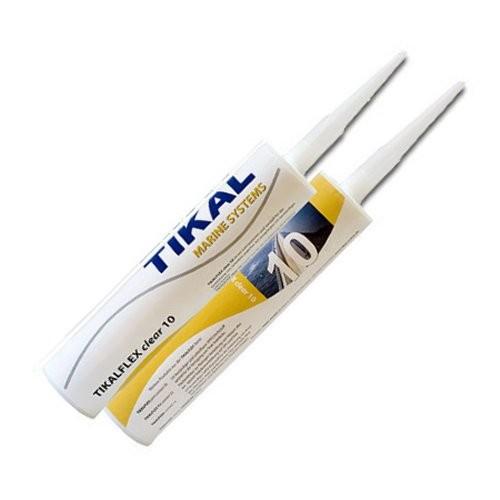 Tikalflex Clear 10 transparent Kartusche