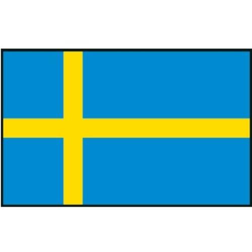 Flagge Gastland Schweden