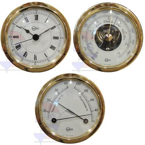 Barigo Tempo S 3-er Set Quarzuhr + Barometer + Comfortmeter