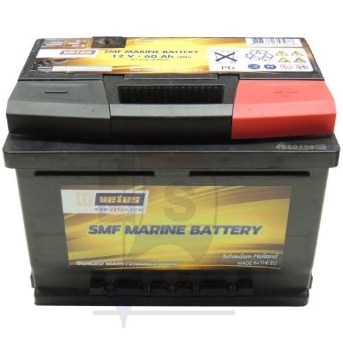 Vetus SMF Marine Batterie 60 Ah