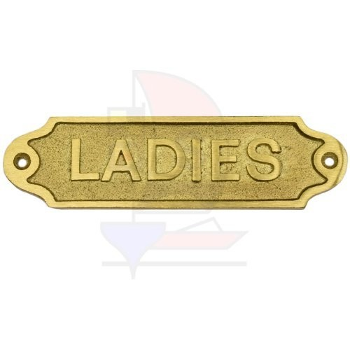 Türschild Ladies