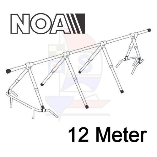 NOA Robustes Decksgestell 12m