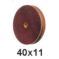 Seilscheibe Tufnol 40 x 11