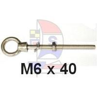 Augbolzen M6 x 40mm