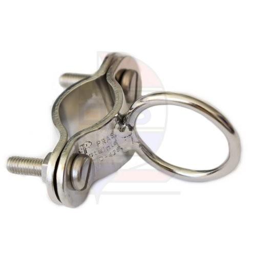 Prasolux Rohrschelle mit Ring 30mm