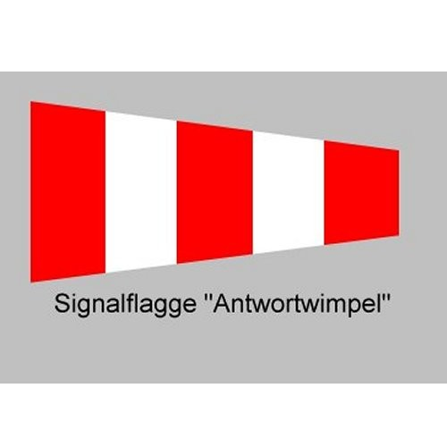 Signalflagge 20 Antwortwimpel