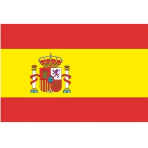 Flagge Gastland Spanien