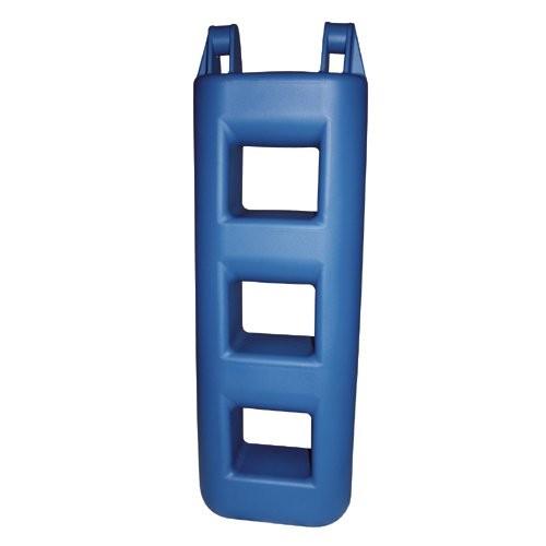 Treppenfender 3 Stufen blau