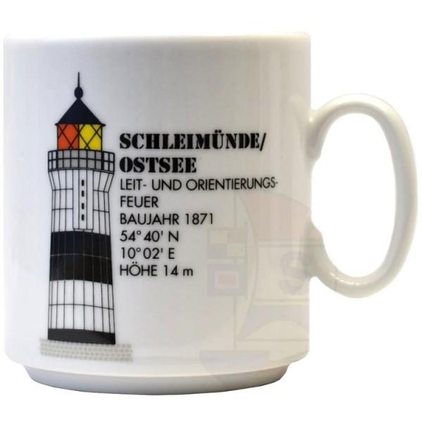 Leuchtturmtasse Schleimünde/Ostsee
