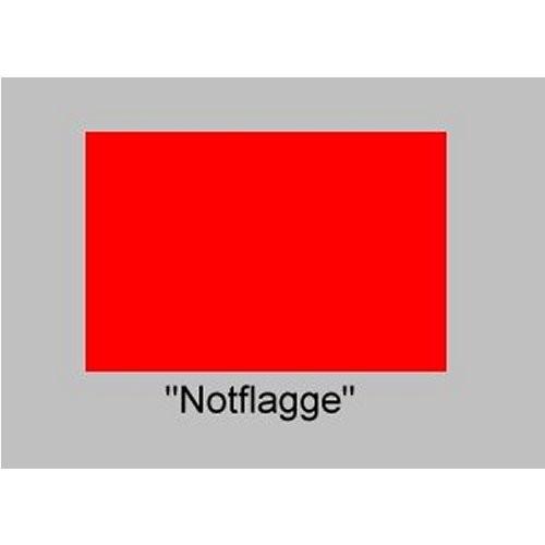 Signalflagge 60 Notflagge