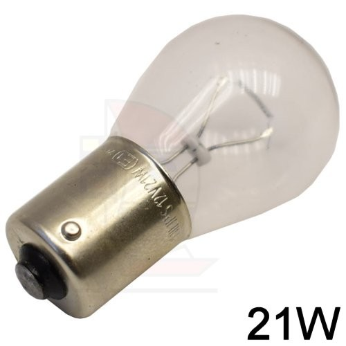 Glühlampe BA 15s 21W