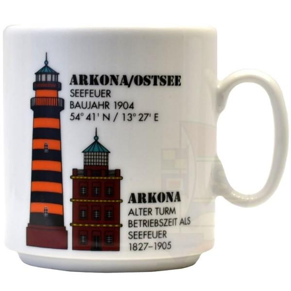 Leuchtturmtasse Arkona / Ostsee