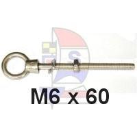 Augbolzen M6 x 60mm