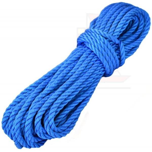 25m Leine Lirolen 10mm blau