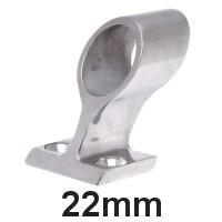 Handlauf-Rohrmittelstück Edelstahl 22mm
