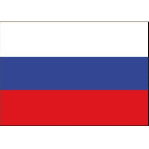 Flagge Gastland Russland